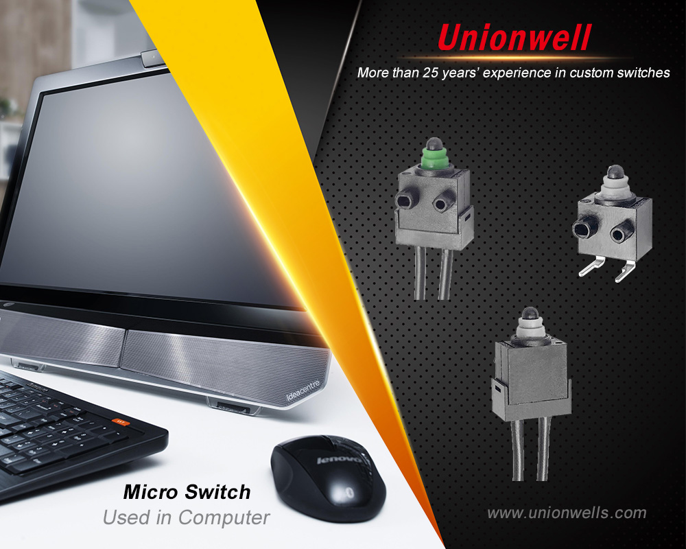 Understanding Micro Switches And Types Of Actuators In Micro Switches