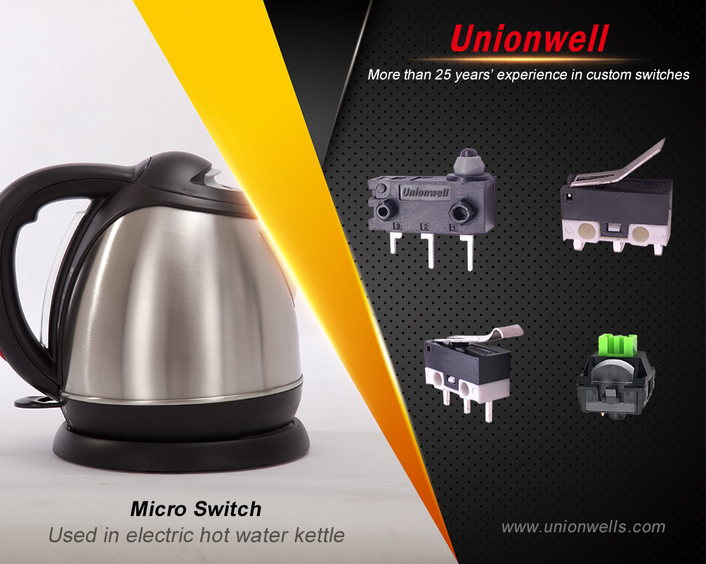 Custom Micro Switch Used In Electric Kettle From Electric Kettle Switch manufacturers