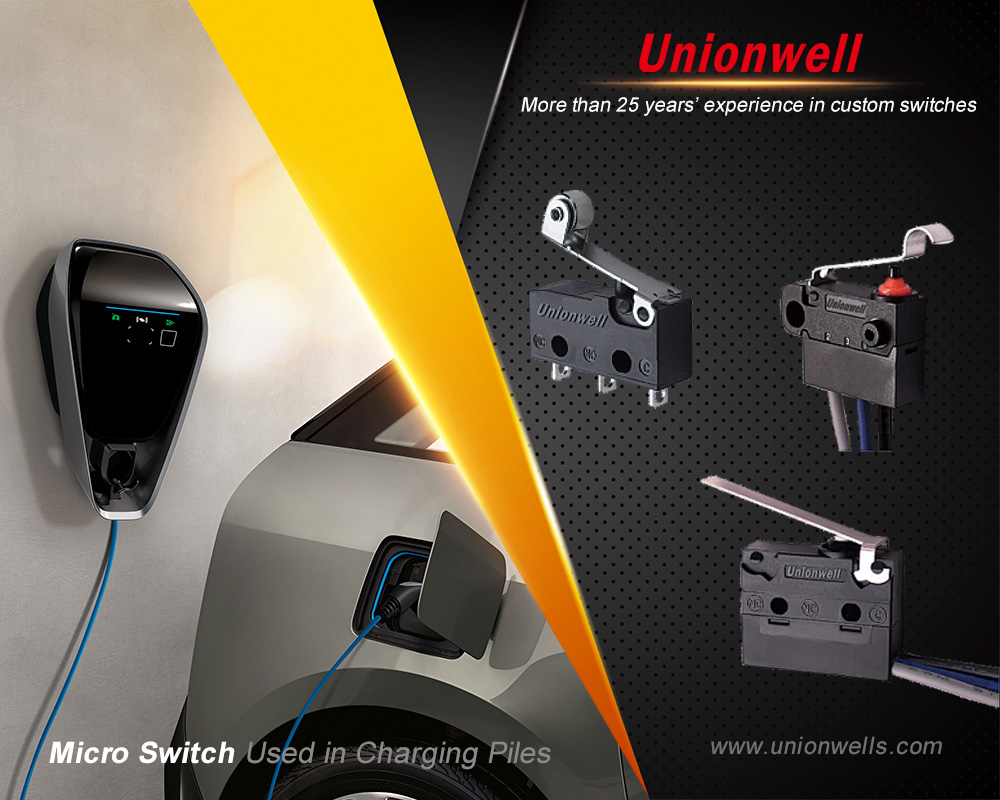 Micro Switch Types Supply By China Unionwell Micro Switch Manufacturer