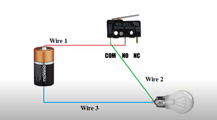 Micro Switch Diagram 3