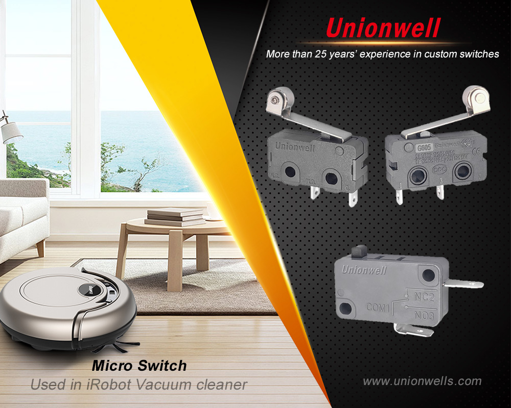 Main applications of a micro switch
