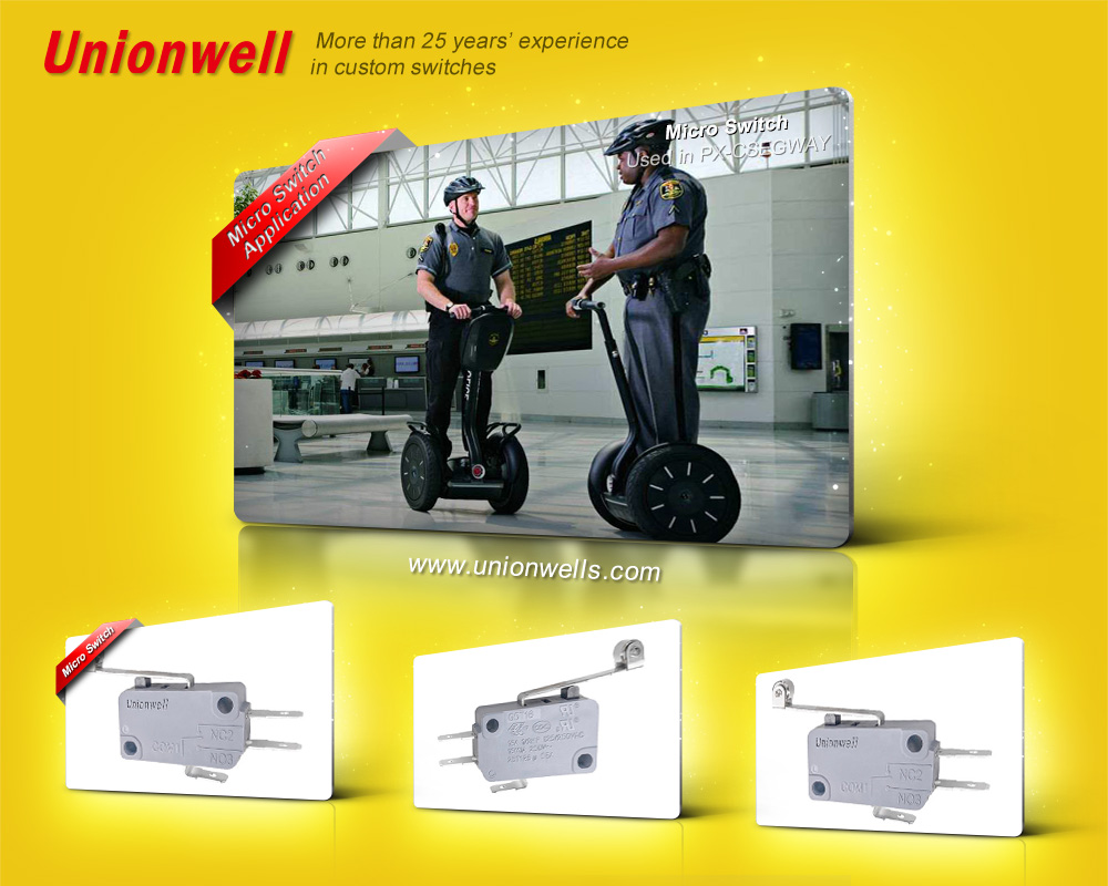 Unionwell is the best micro switches manufacturer supplier factory in china