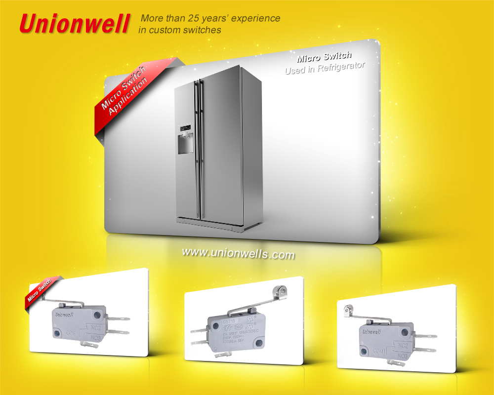 What Is The Role of Waterproof Micro Switch In Refrigerator?